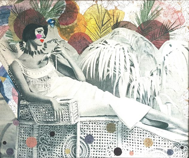 Noor Huige - Odalisque - Limited edition print
