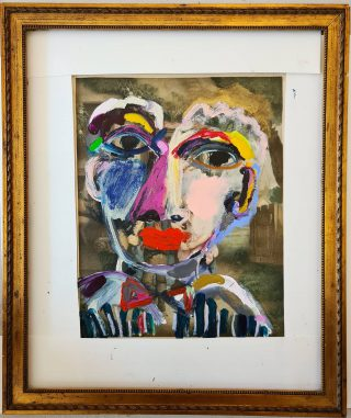 Old fame and artprint...and new beginnings. #noorhuige #art #amsterdam #recycle #thriftshop #recycleart #howtorecycle #kringloopgeluk #cardboard #painting #picasso #saatchi #modernart #antiqueframe #layers #artwork #artcollector #artcollection #contemporaryart #artist #arte #sennelier #recycling #collage #modernart #painting